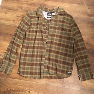The North Face Long Sleeve Button Down Flannel